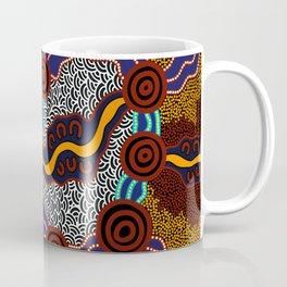 Authentic Aboriginal Art -  Coffee Mug