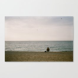 A Perfect Day for Bananafish Canvas Print