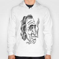 bukowski Hoodies featuring Bukowski by @VEIGATATTOOER