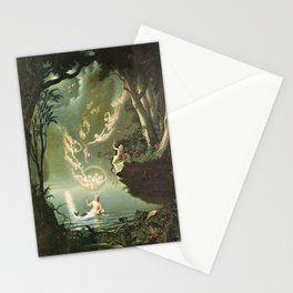"""""""Oberon and the Mermaid"""" by Douglas Harvey (1853) Stationery Cards"""