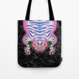 TIBETAN TIGER - CANDY (black) Tote Bag