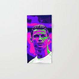 Ronaldo - Neon Hand & Bath Towel