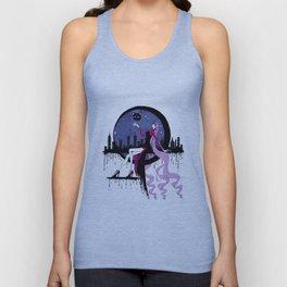 Black Lady (Chibiusa) night moon city Unisex Tank Top