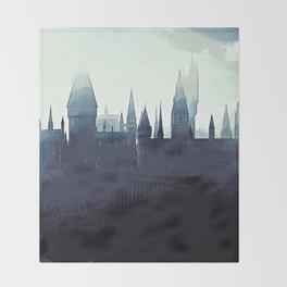 Harry Potter - Hogwarts Throw Blanket