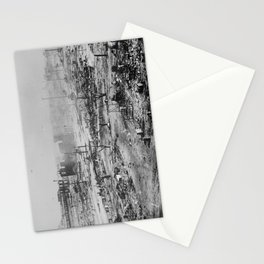 Ruins after the race massacre in Tulsa, Oklahoma, 1921 Stationery Cards