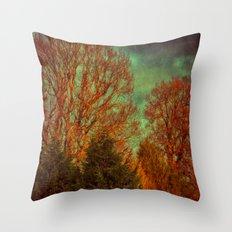 Trees, Trees, Trees Throw Pillow