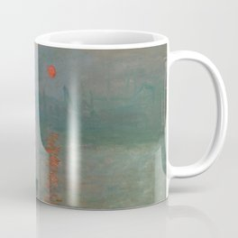 Impression, Sunrise, Claude Monet Coffee Mug