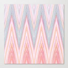 Agate Chevron Canvas Print