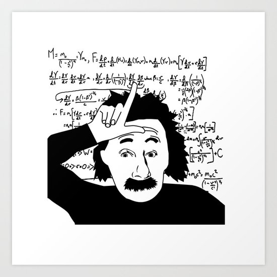 You just don't get it - humor Art Print