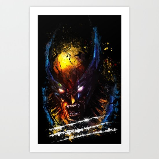 The Wolverine Art Print