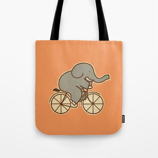 Elephant Cycle Tote Bag