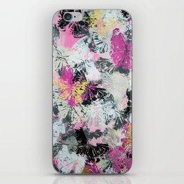 Pink Butterflies iPhone Skin