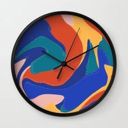 Hello Color Wall Clock