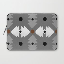 Modern Desert Fox Southwest Pattern Laptop Sleeve