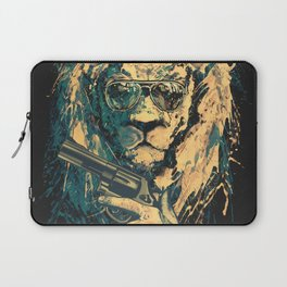Lion is always Cool Laptop Sleeve