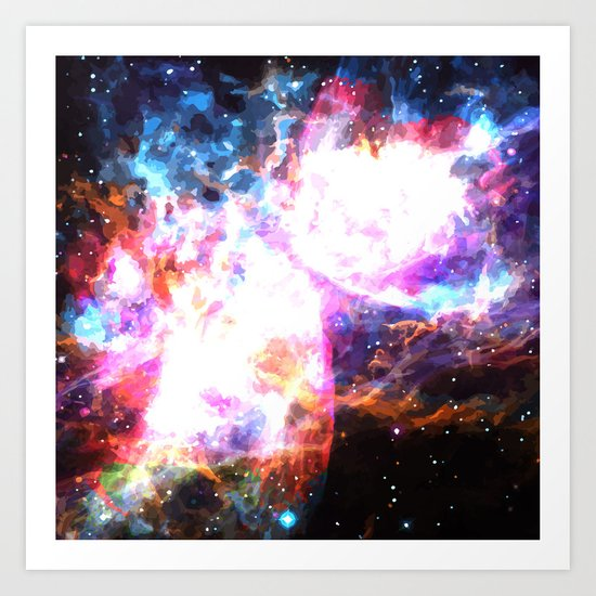 Supernovae Art Print