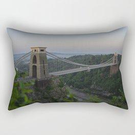 Clifton Suspension Bridge Rectangular Pillow