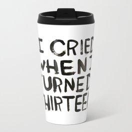 THIRTEEN. Metal Travel Mug