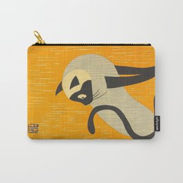 Asai Kiyoshi Japanese Woodblock Siamese Cat Midcounty Modern Art Carry-All Pouch