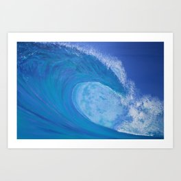 The Next Wave Art Print