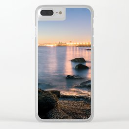 A break from routine. Tranquil spot in 'Montevideo, Uruguay' Clear iPhone Case
