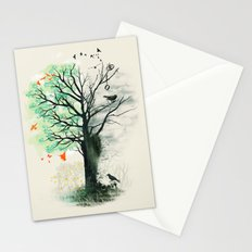 They Loved the Landscape to Death Stationery Cards
