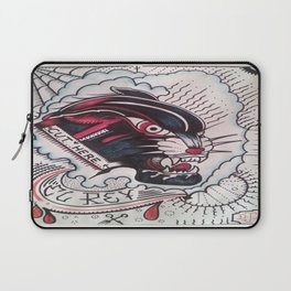 Cut Here Laptop Sleeve