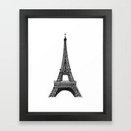 Paris Eiffel Tower Framed Art Print