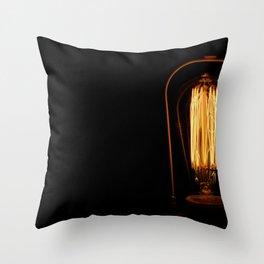 Darkest light Throw Pillow