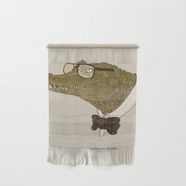 Spectacle(d) Caiman Wall Hanging