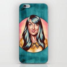 Clarice Falcão iPhone & iPod Skin