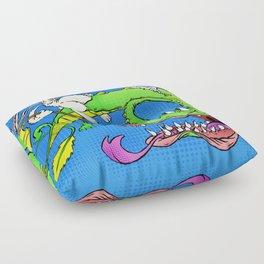 The Luck Dragon Floor Pillow
