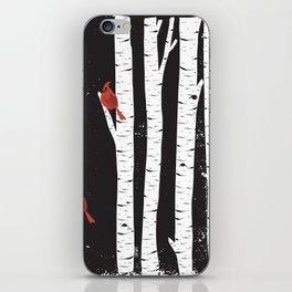 Northern Cardinal Birds iPhone Skin