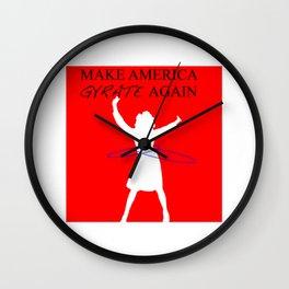 Make America Gyrate Again Wall Clock
