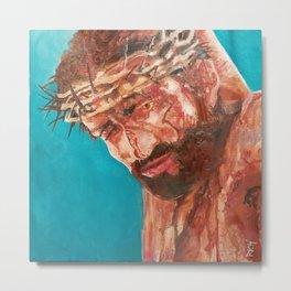 Crucifixion of Christ Metal Print