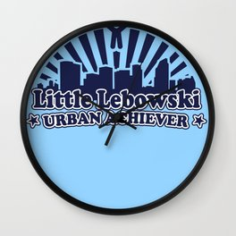 Little Lebowski Urban Acheiver Wall Clock