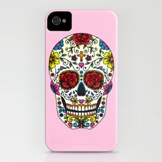 Sugar Skull Slim Case iPhone (4, 4s)