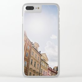 Old Town Square, Prague Clear iPhone Case