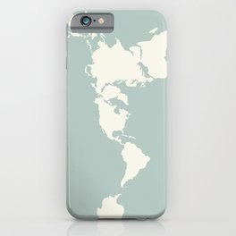 Dymaxion Map of the World iPhone Case