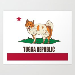 Tugga Republic Art Print