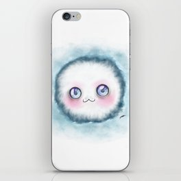 fluffy kawaii iPhone Skin