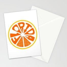 Florida Orange Stationery Cards