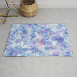 Drops and drips Rug