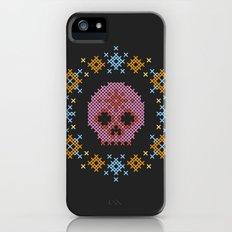 Scandi Scull Slim Case iPhone (5, 5s)