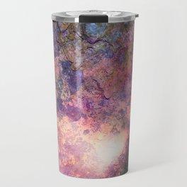 Rebirth | Galaxy Abstract Painting Travel Mug