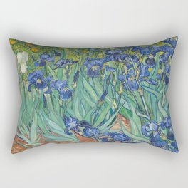 Irises by Vincent van Gogh Rectangular Pillow