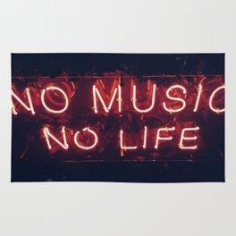 No Music No life Rug