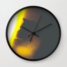 Entei Silhouete Wall Clock