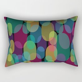 Oval Abstract Pattern Rectangular Pillow