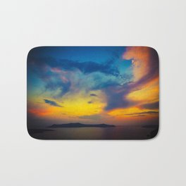 My sunset Bath Mat